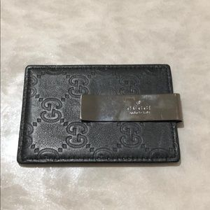 Men's Gucci card case / money clip